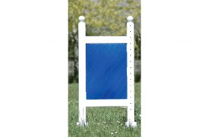 Square Panel 5ft Two Tone Jump Standards