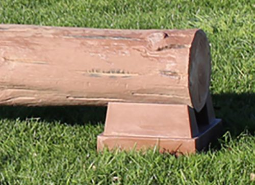Burlingham Sports cross country jumps 790LR Low Rise Timber log jump