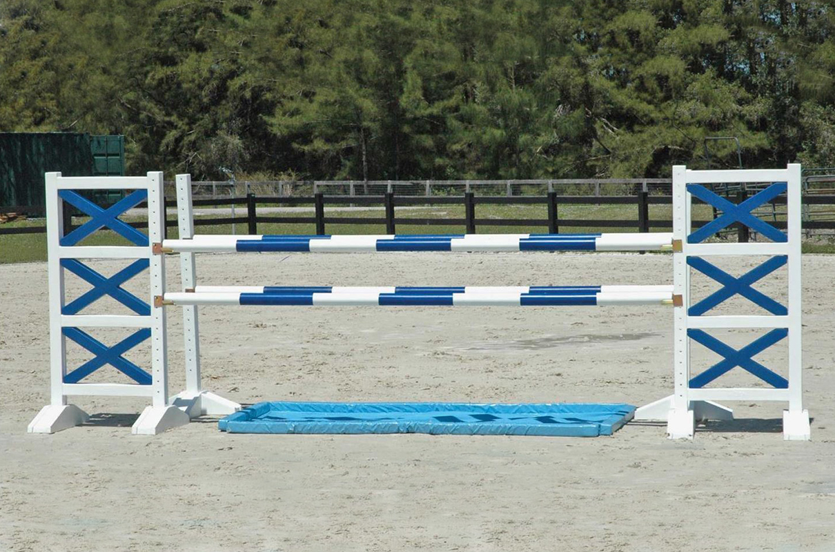 Oxer Jump With Water Hazard Asa52 Arena Supplies