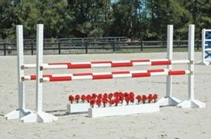 schooling oxer complete jump asa23