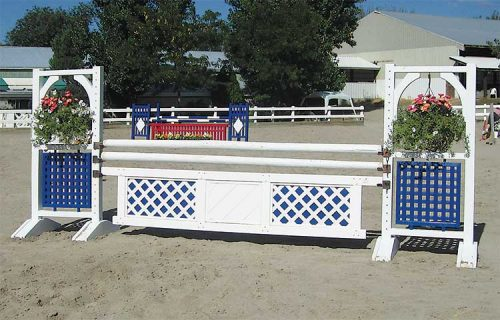 6' Two Tone standards with PolyPro gate