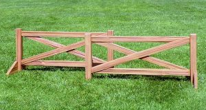 Cedar Split Rail Fence