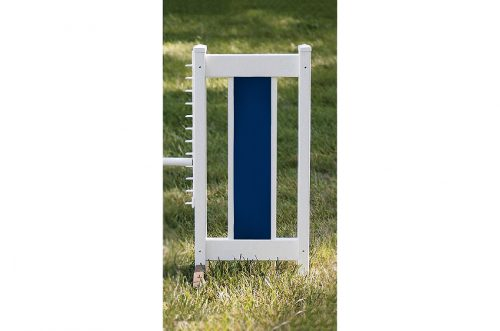 slant picket jump set blue standard