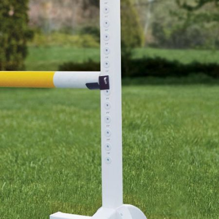 Premier PolyPro horse jump standards. Stable, lightweight, and maintenance free. Fan top/Solid 5' 9-422 6' 9-035