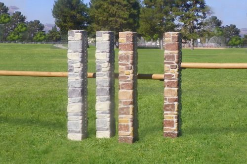 Stone Column Standards with Track