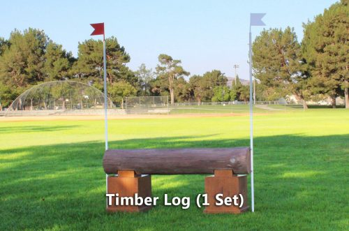 timber jump timber log set of 1