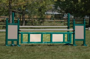 Two Panel Two Tone Gate
