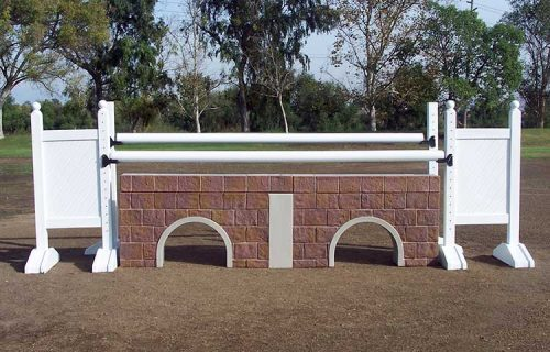 Use Post Standards to create an oxer