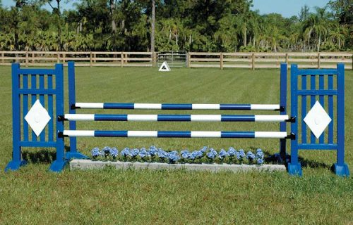 Burlingham Sports 5′ Two Tone Jump Standards
