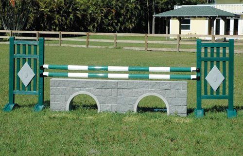 Burlingham Sports 5′ Two Tone Jump Standards