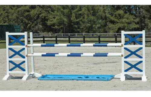 Burlingham Sports 6′ Two Tone Jump Standards
