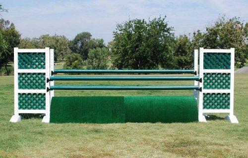 Burlingham Sports 6′ Two Tone Jump Standards