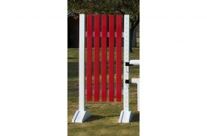 6ft picket jump standards pair