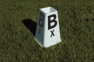 Berkshire Dressage Letters with Bottom Set of 8