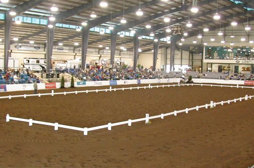 classic arena with post anchor 20 x 40 meter classic arena