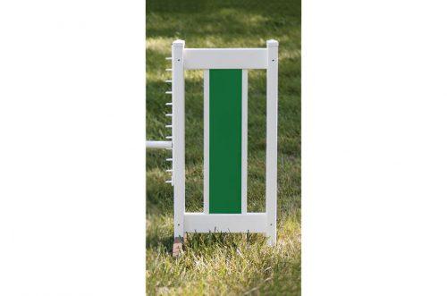 slant picket jump set green standard