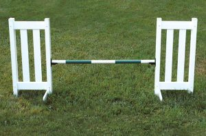 double picket jump set
