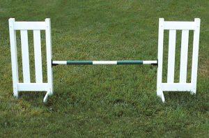 double picket jump set