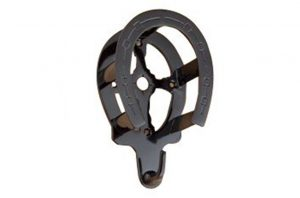 horseshoe powder coated bridle rack