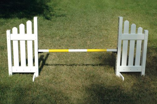 slant picket jump set