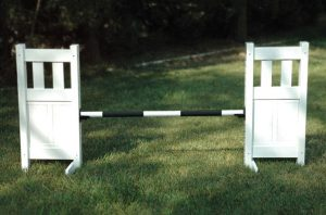solid picket top jump set