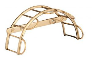 brass tack and harness rack