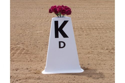 tower letters set of 12 cone with flowers