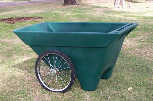green utility cart