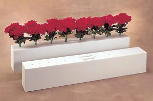 burlingham sports jump flower boxes in white