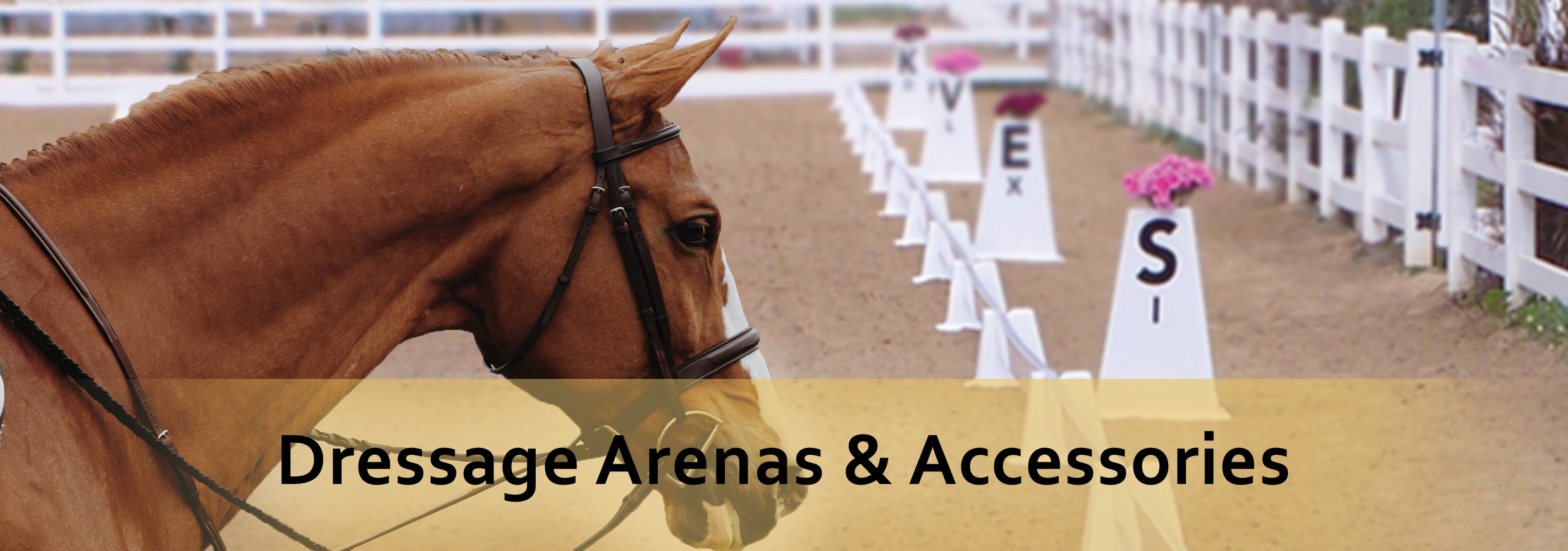 dressage arenas and accessories