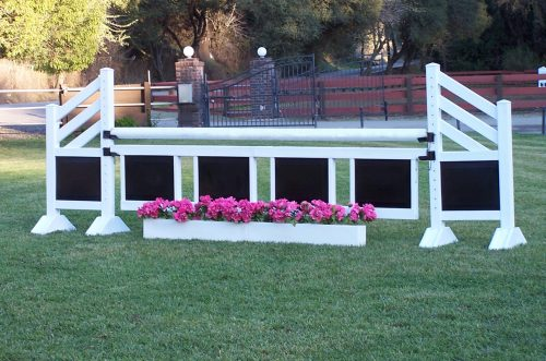 training flower boxes with tow tone complete jump