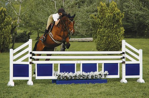 training flower boxes with two tone wings and gate complete jumps