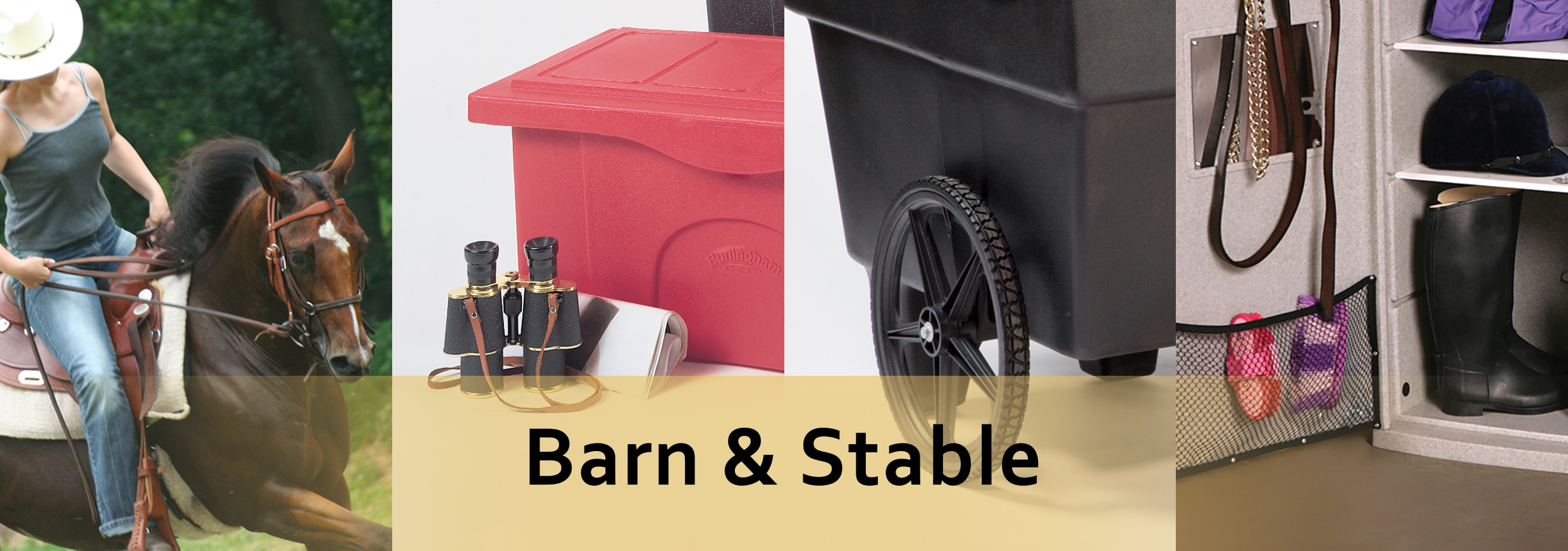 barn and stable landing page