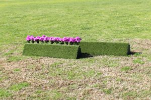 arena supplies turf triangle flower box set
