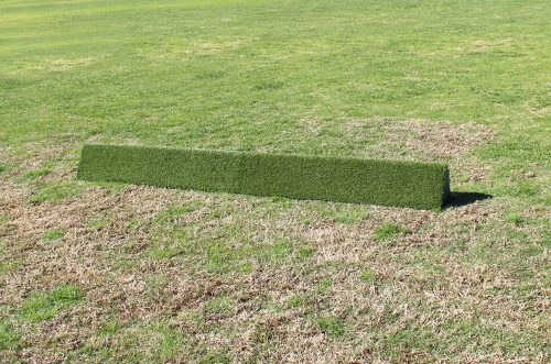 arena supplies turf triangle flower box set side by side