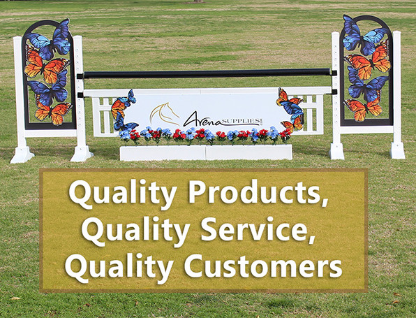 quality products, quality service, quality customers
