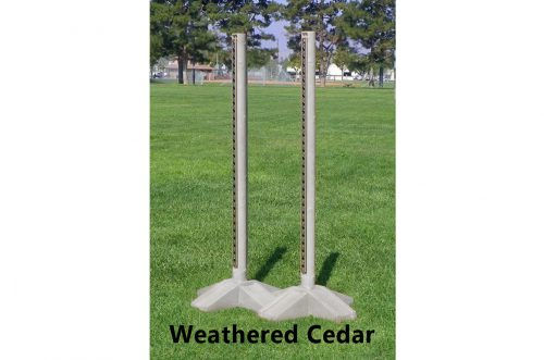 6ft natures post standards weathered cedar