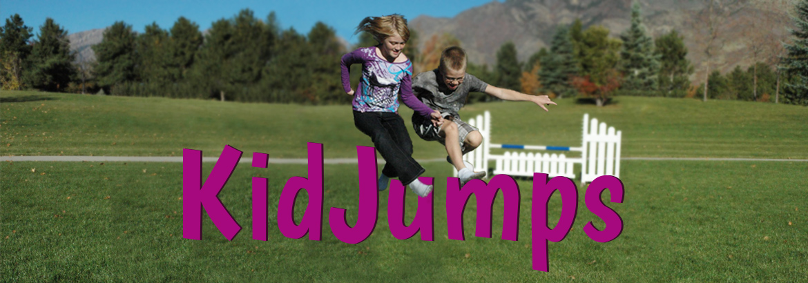 kid jumps landing page