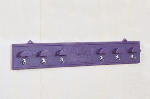 Bridle Rack with chrome Hooks