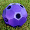 hay ball feeder in purple