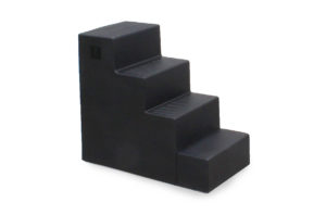 4 step mounting block black