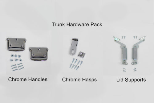 chrome trunk hardware package