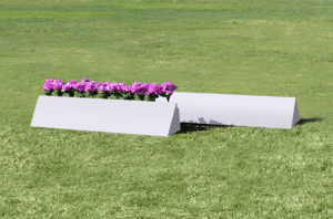 triangle flower box set