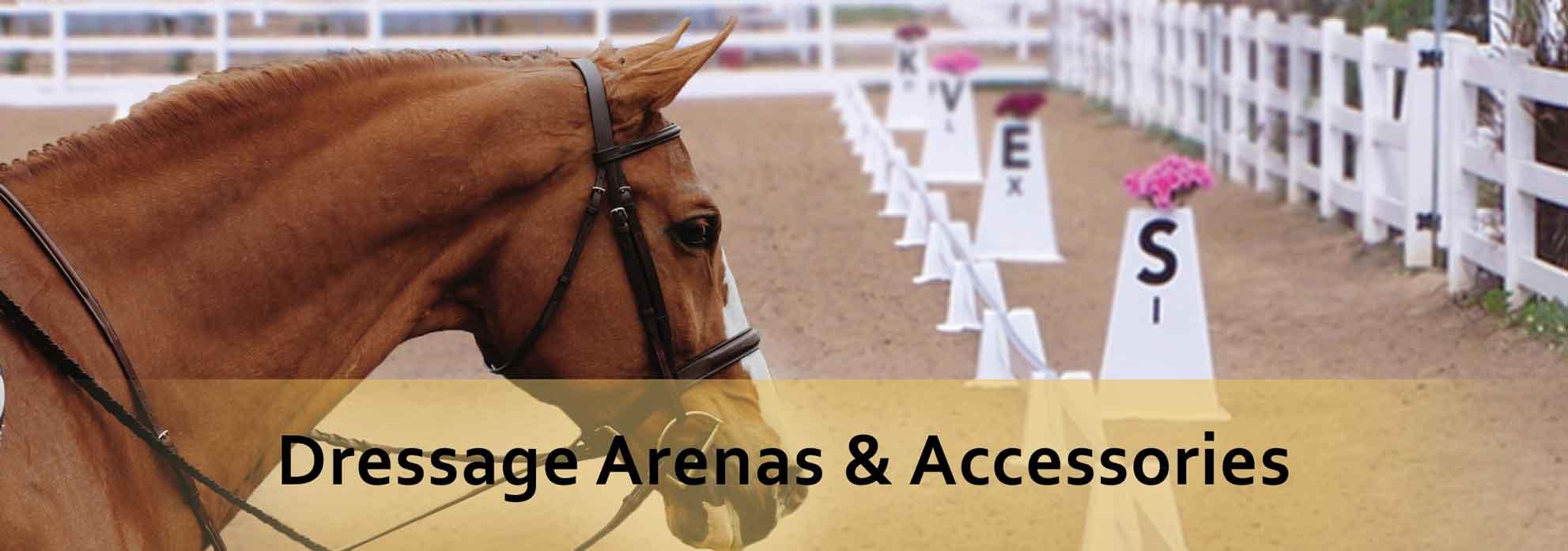 dressage arenas
