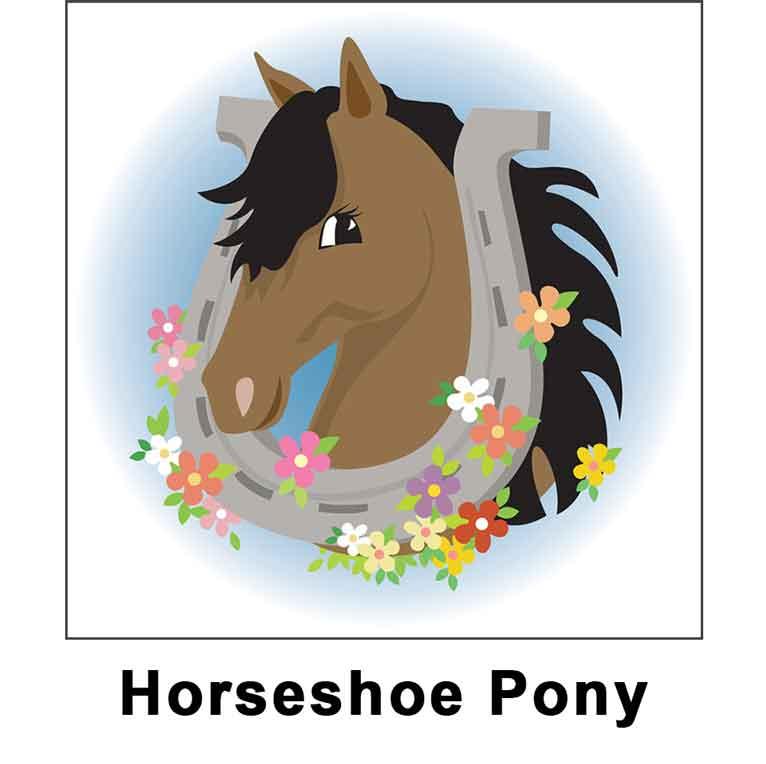 horseshoe pony