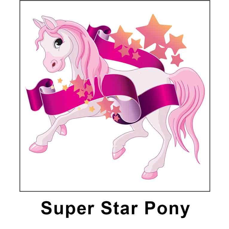 super star pony