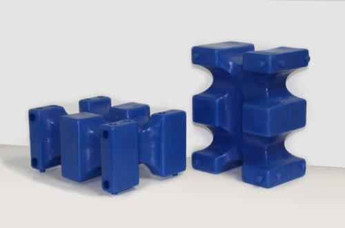 riser max jump block pair in blue