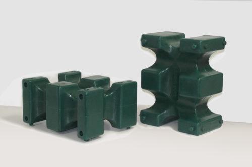 riser max jump block pair in green