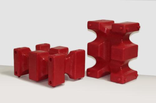 riser max jump block pair in red