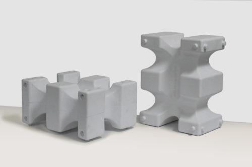 riser max jump block pair in white